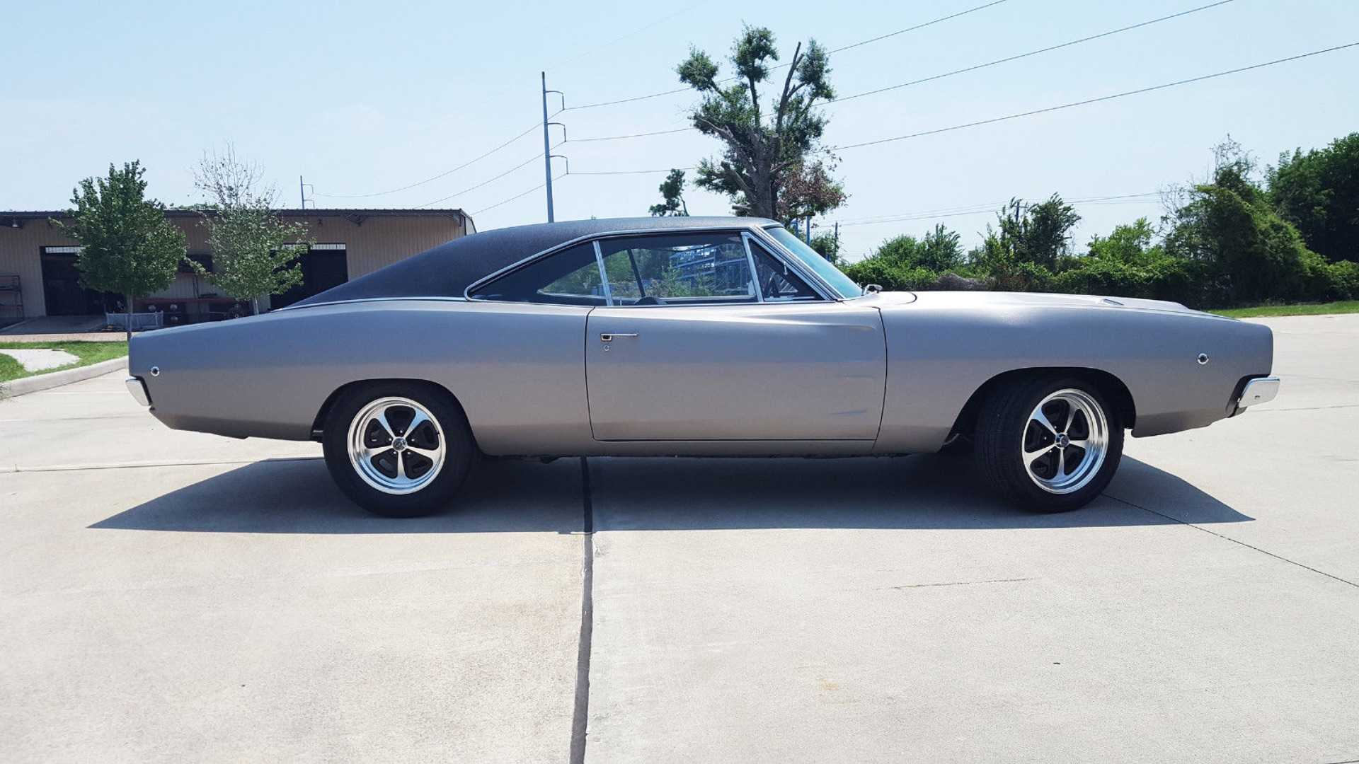 """[""""1968 Dodge Charger Is A Rare Find With A Great Story""""]"""