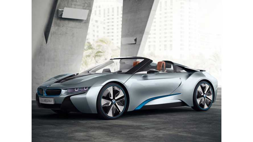 "Carbon Fiber Reinforced Plastic Presenting BMW With ""Major Challenges"" in Development of i8 Spyder"