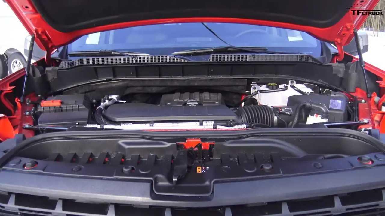 Chevrolet Silverado Four-Cylinder Tow Test