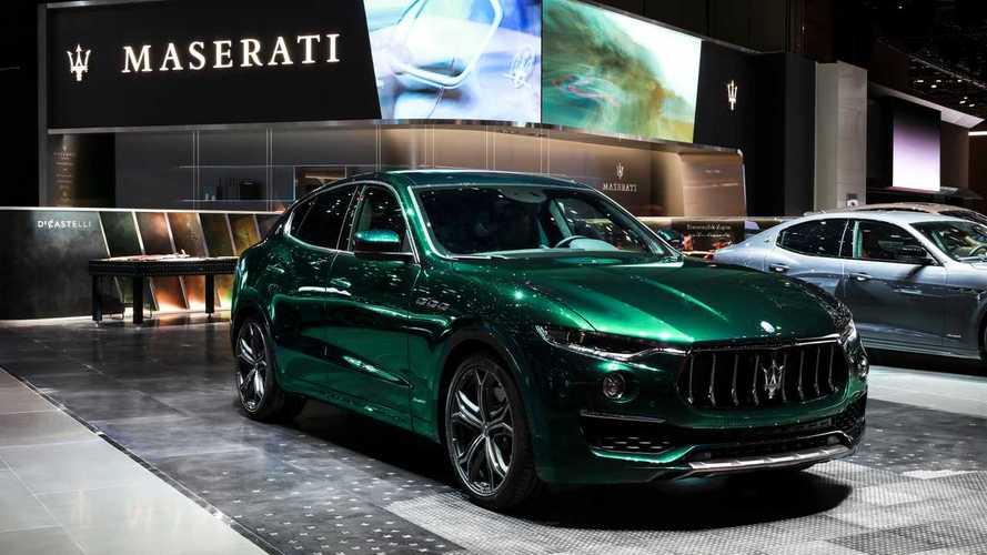 Maserati Levante, la prima