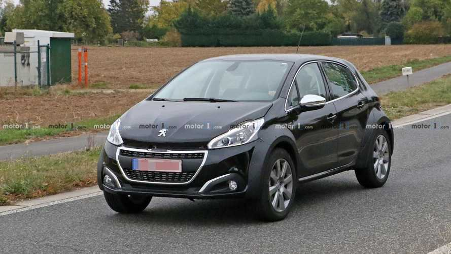 Peugeot's Tiny SUV Spied Trying To Hide Under 208 Body