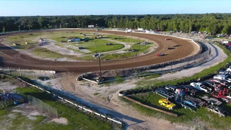 $799,000 Will Buy You This Dirt Oval Track