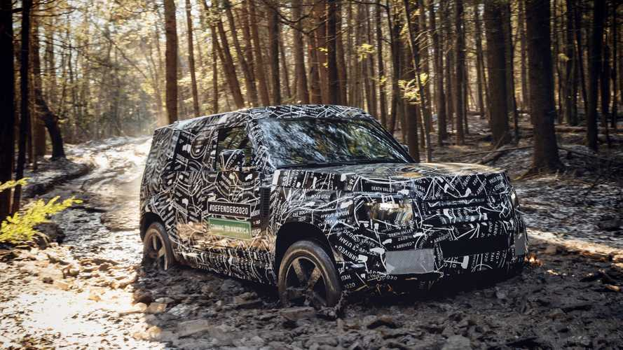 Land Rover divulga novas fotos e confirma novo Defender na América do Norte