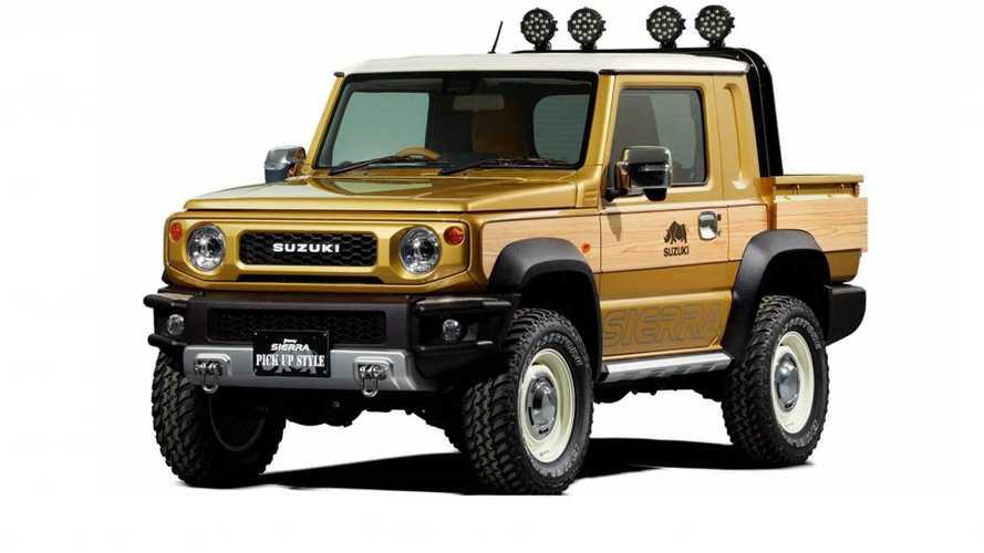 Suzuki Brings Woodie Jimny Pickup, Off-Road Concept To Tokyo