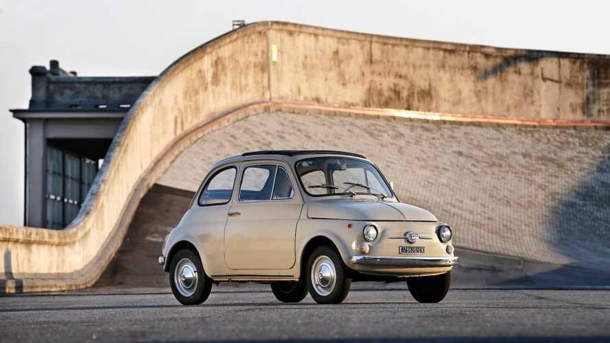 Orijinal Fiat 500 New York Modern Sanatlar Müzesi'nde sergilenecek