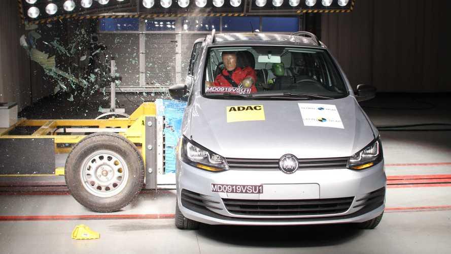 Latin NCAP: Volkswagen Fox tem nota reduzida para três estrelas em teste de colisão
