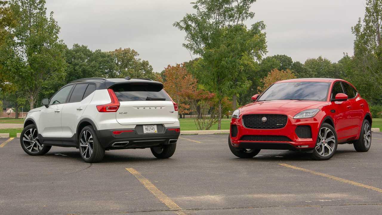 2019 Volvo XC40 vs. 2018 Jaguar E-Pace