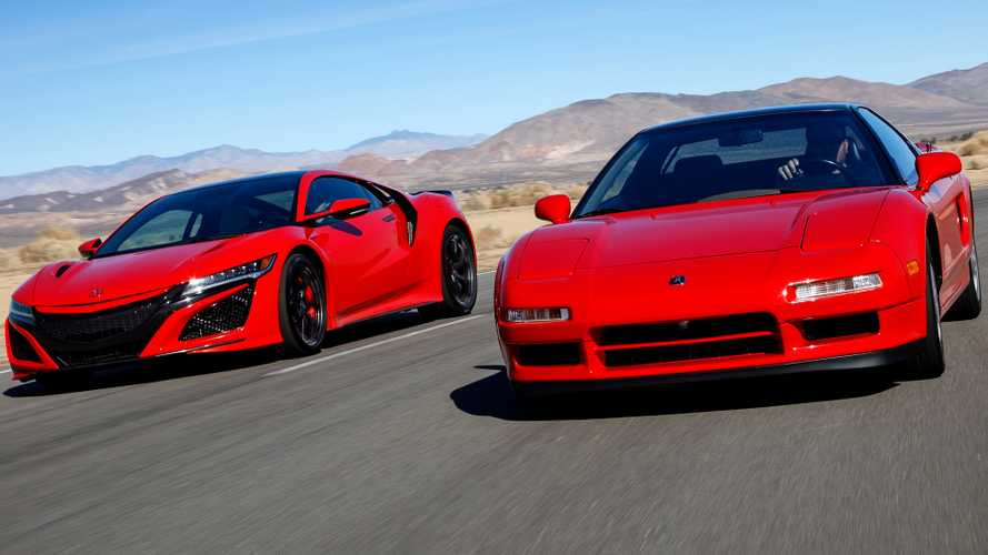 Acura NSX Celebrates 30 Years Since Concept Debut In Chicago