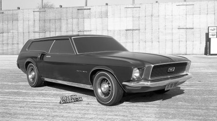 Lost ford mustang concept cars