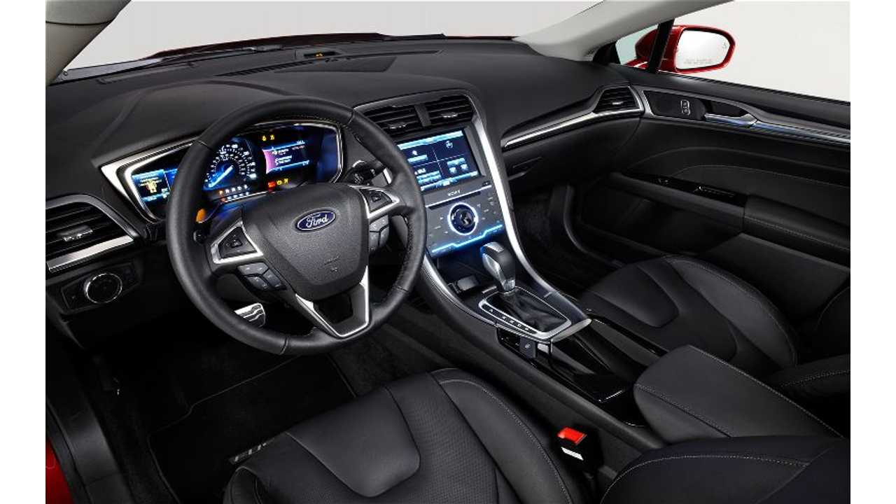 The Fusion Energi Has Both A Comfortable And Appealing Interior Design