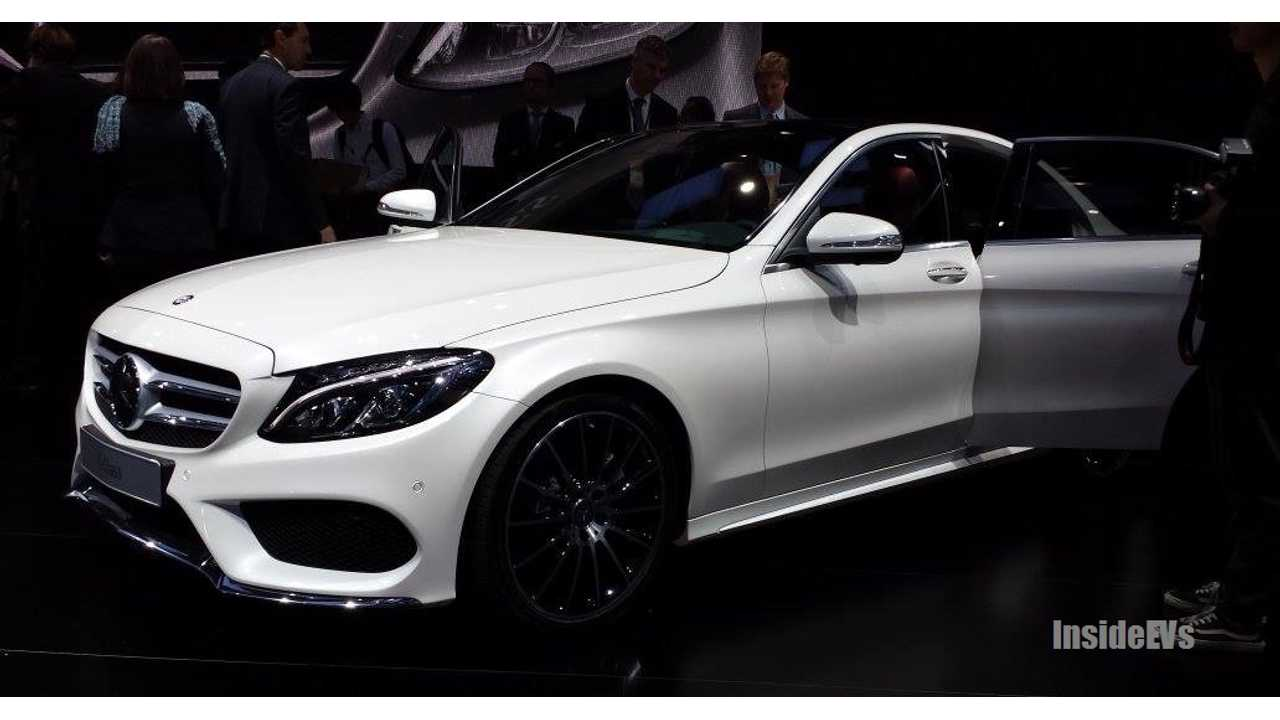 All-New Mercedes-Benz C-Class - PHEV Version Coming Soon