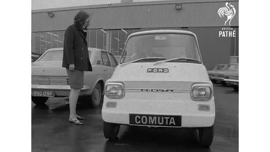 Electric Car Promotion Circa 1967 - video