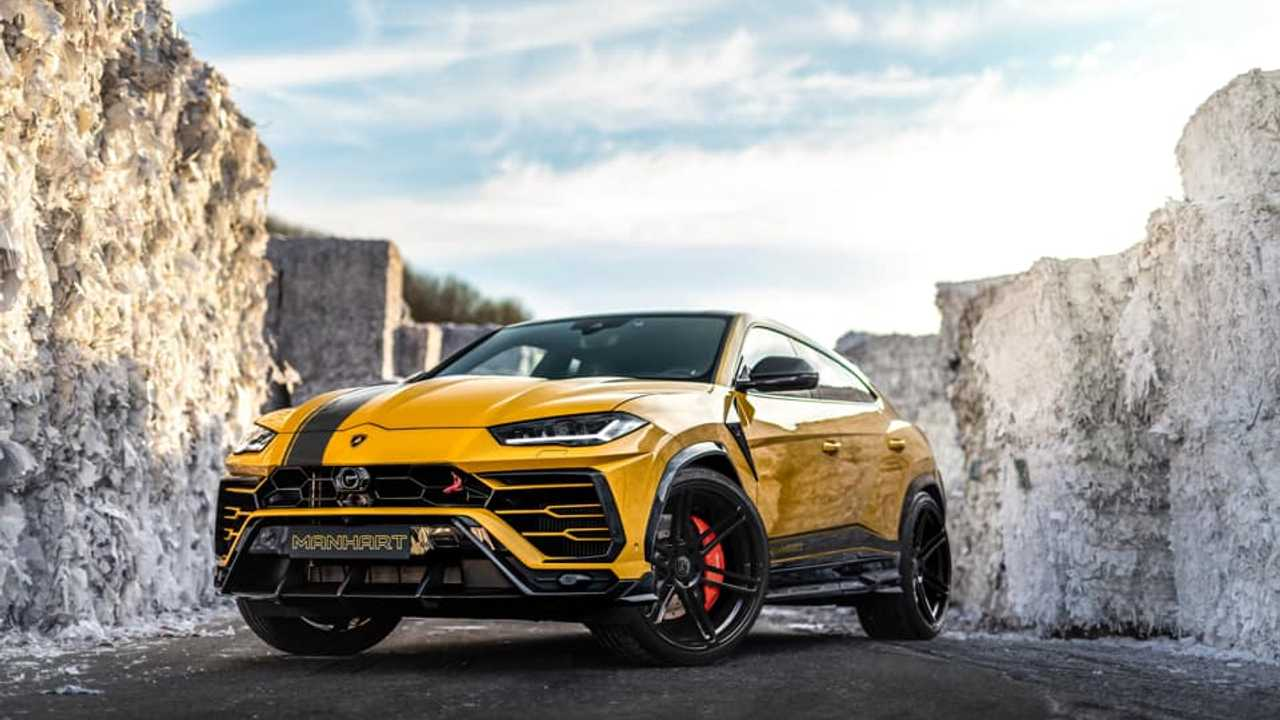 Lamborghini Urus a Manhart által