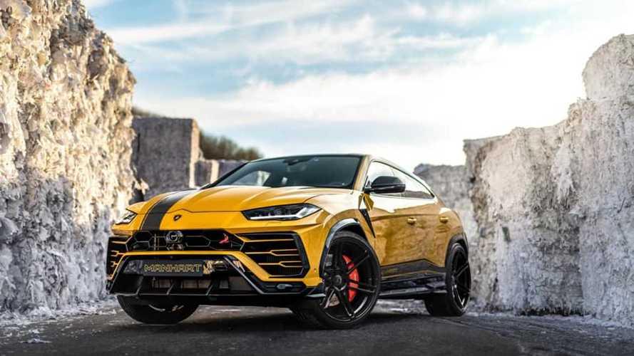 Manhart propone el Lamborghini Urus con más de 800 CV