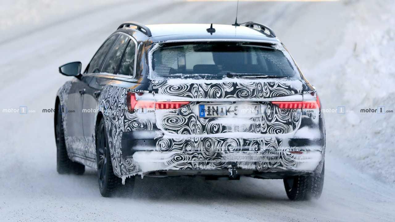 Audi A6 Allroad nouvelles photos espion
