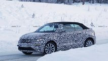 VW T-Roc Cabrio Spy Photo