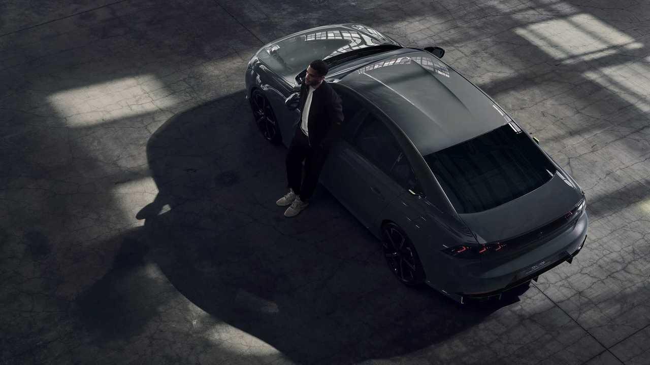 Концепт 508 Peugeot Sport Engineered