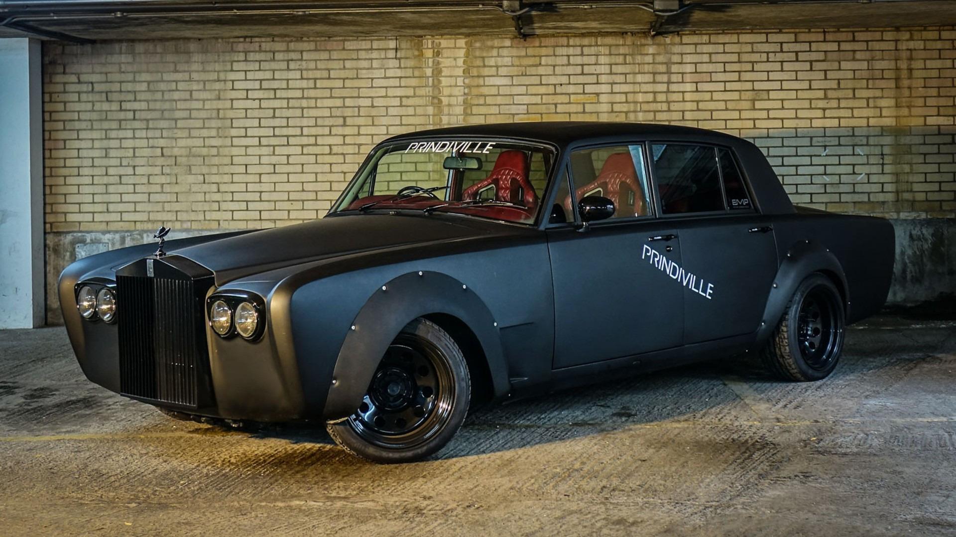 Evil Rolls-Royce Silver Shadow Drift Car Selling For $130k