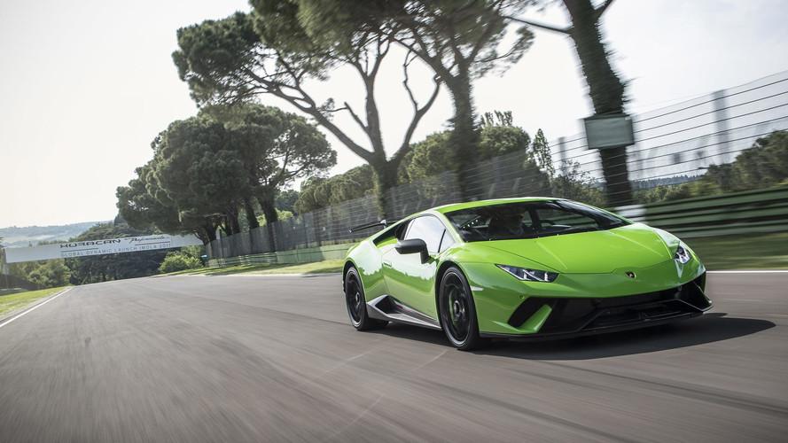 Supergalería de fotos: Lamborghini Huracán Performante 2017