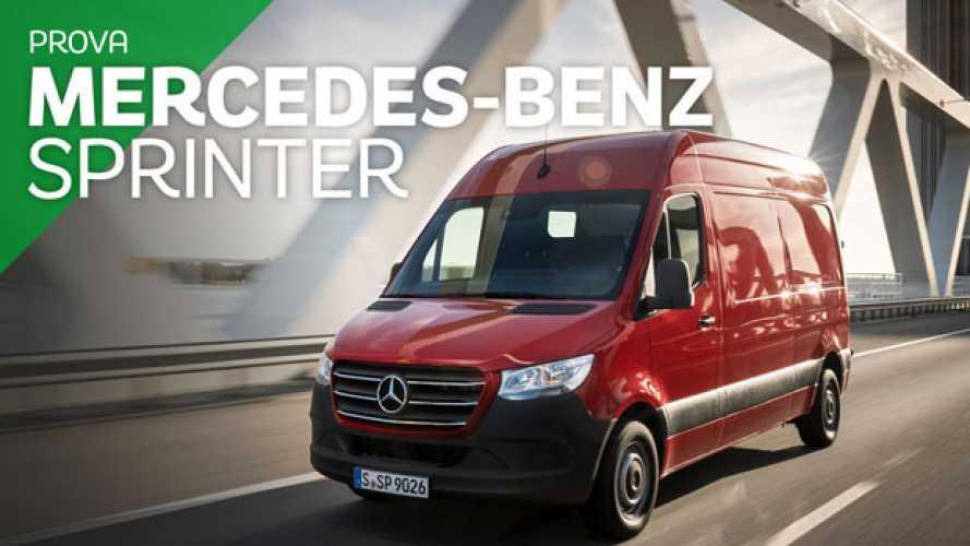 Mercedes Sprinter, alla guida del futuro
