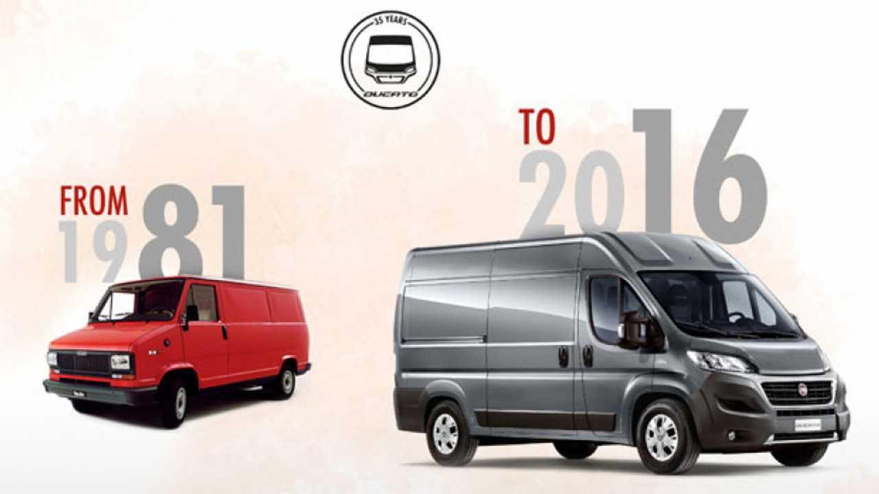 Fiat Professional, i primi 35 anni di Ducato