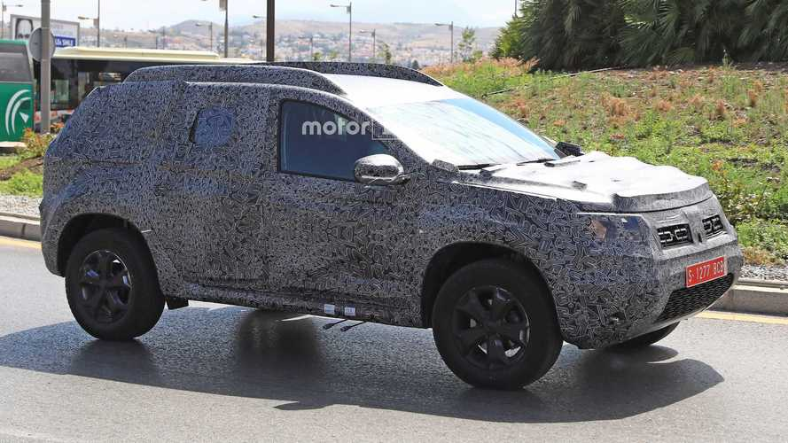 2018 Dacia Duster Spied For The First Time