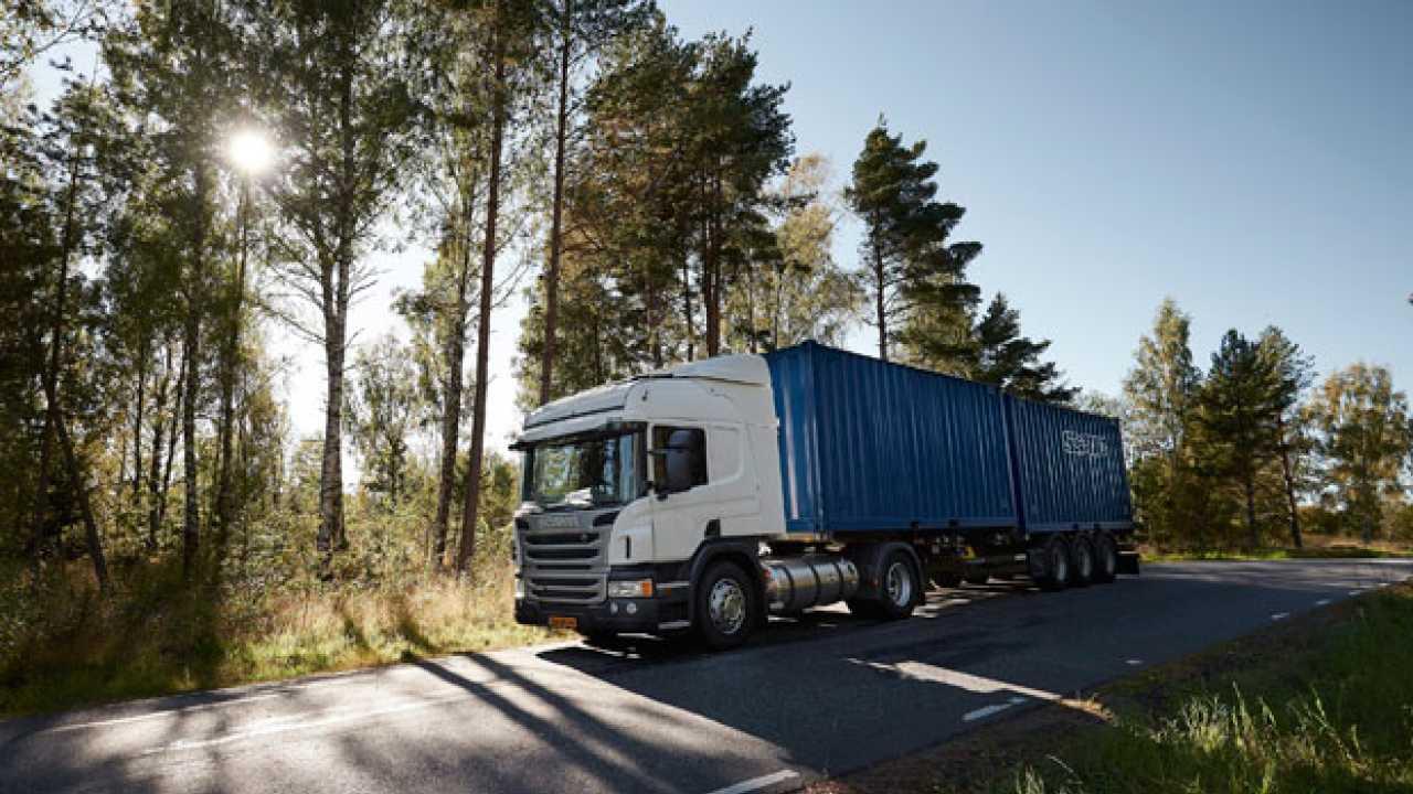 Scania,  Cambio Opticruise anche su metano