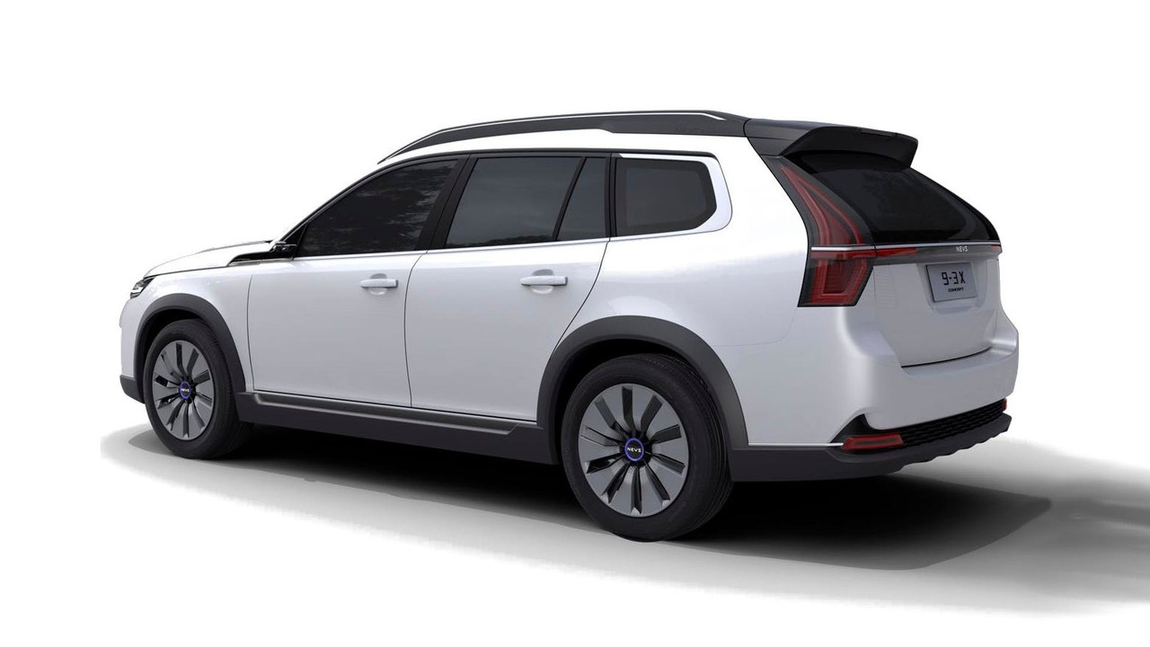 While Nevs Calls The 9 3x An Suv It S Nothing More Than Old Saab Featuring Same Array Of Updates Implemented In Sedan