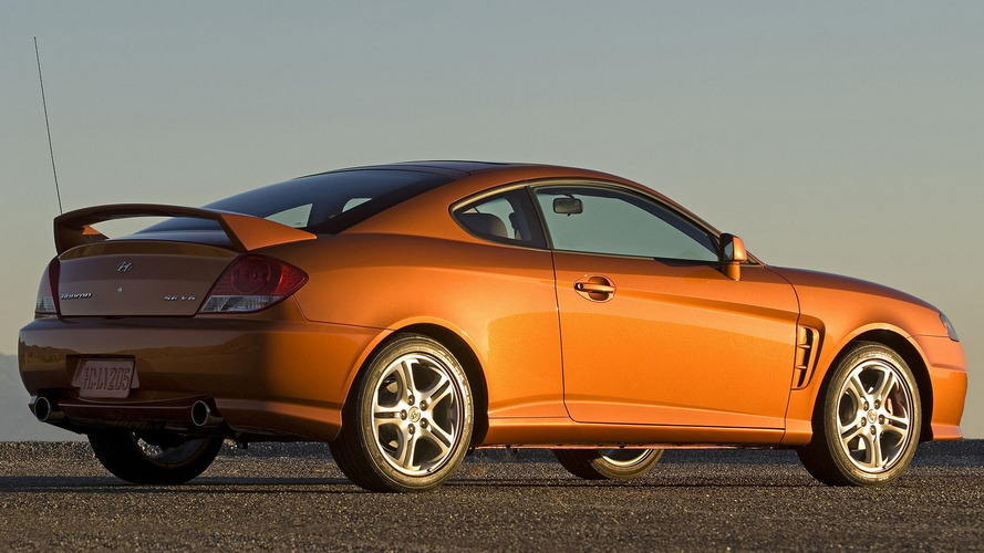 Worst Sports Cars: Hyundai Tiburon