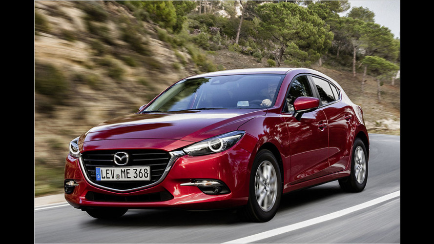 Mazda 3 Facelift (2016) im Test