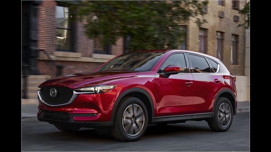 Los Angeles 2016: Mazda zeigt den neuen CX-5
