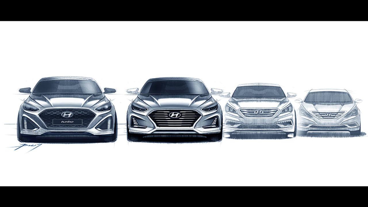 2018 Hyundai Sonata sketch