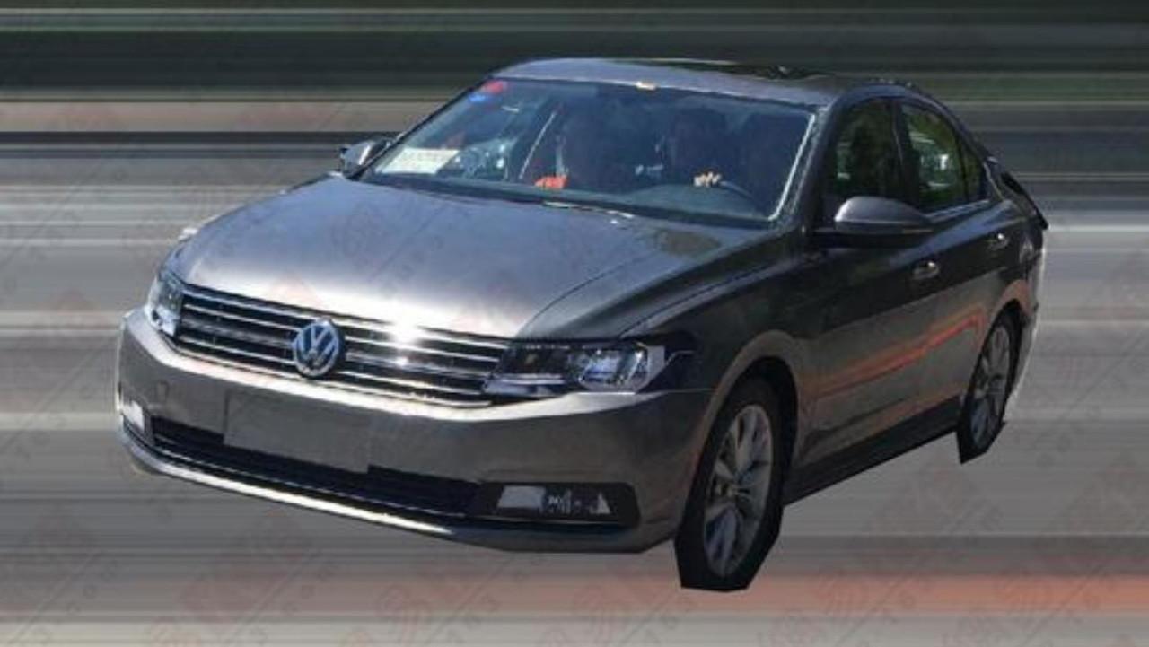 Novo Volkswagen Jetta - Flagra China