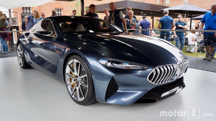 BMW 8 Series Concept Looks Stunning At Goodwood