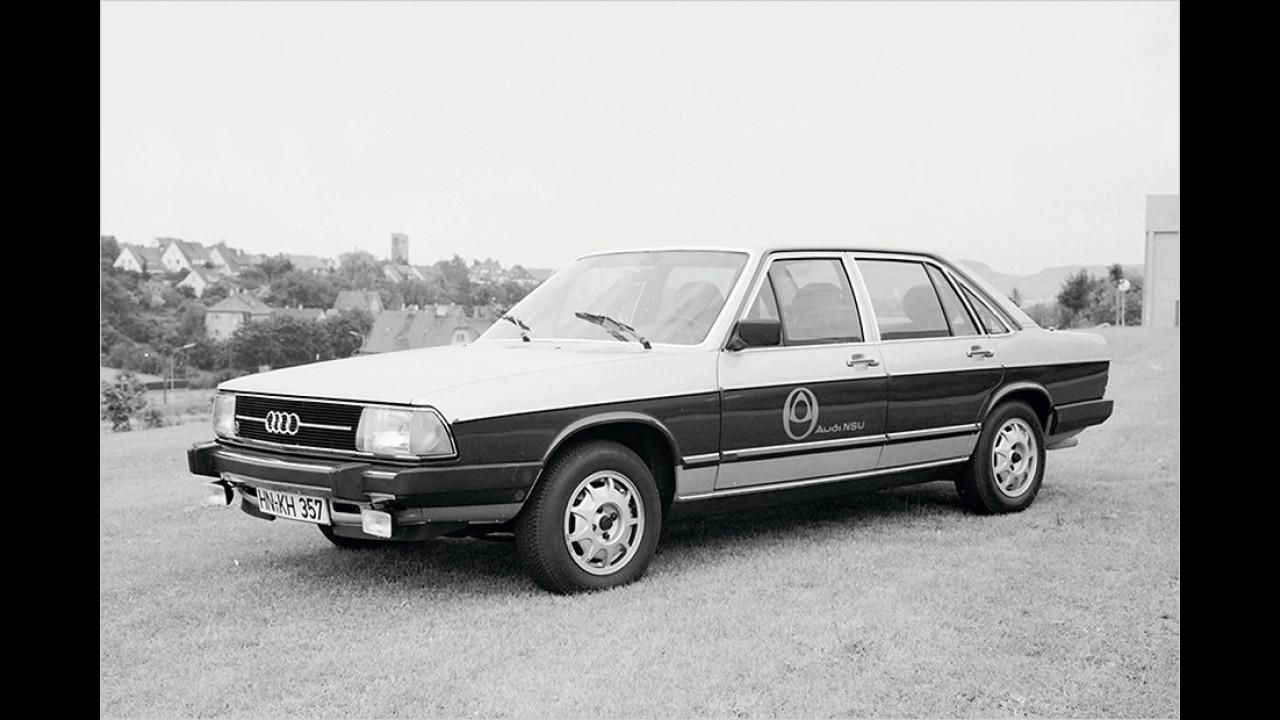 Audi 100 mit Wankelmotor (1976-1977)
