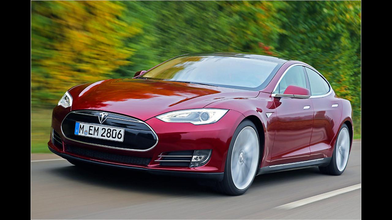 Platz 1: Tesla Model S