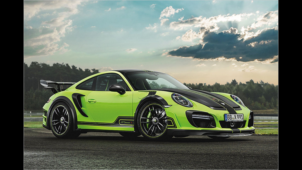 Porsche 911 Turbo S GTstreetR von Techart