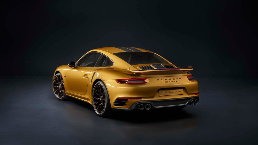 Porsche 911 Turbo S Exclusive Series Strikes Gold With 607 HP