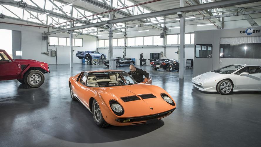 """Lamborghini ouvre une division """"héritage"""" à Sant'Agata Bolognese"""