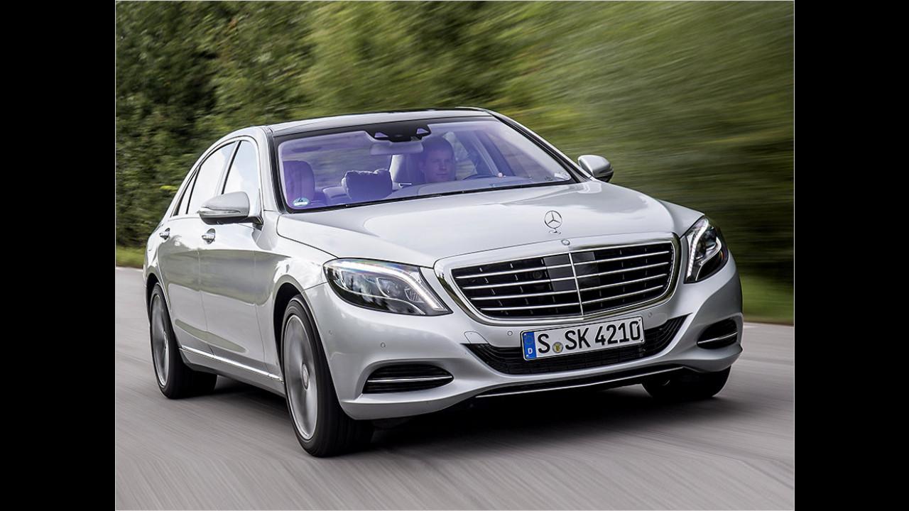 Oberklasse: Mercedes S-Klasse als Bestseller
