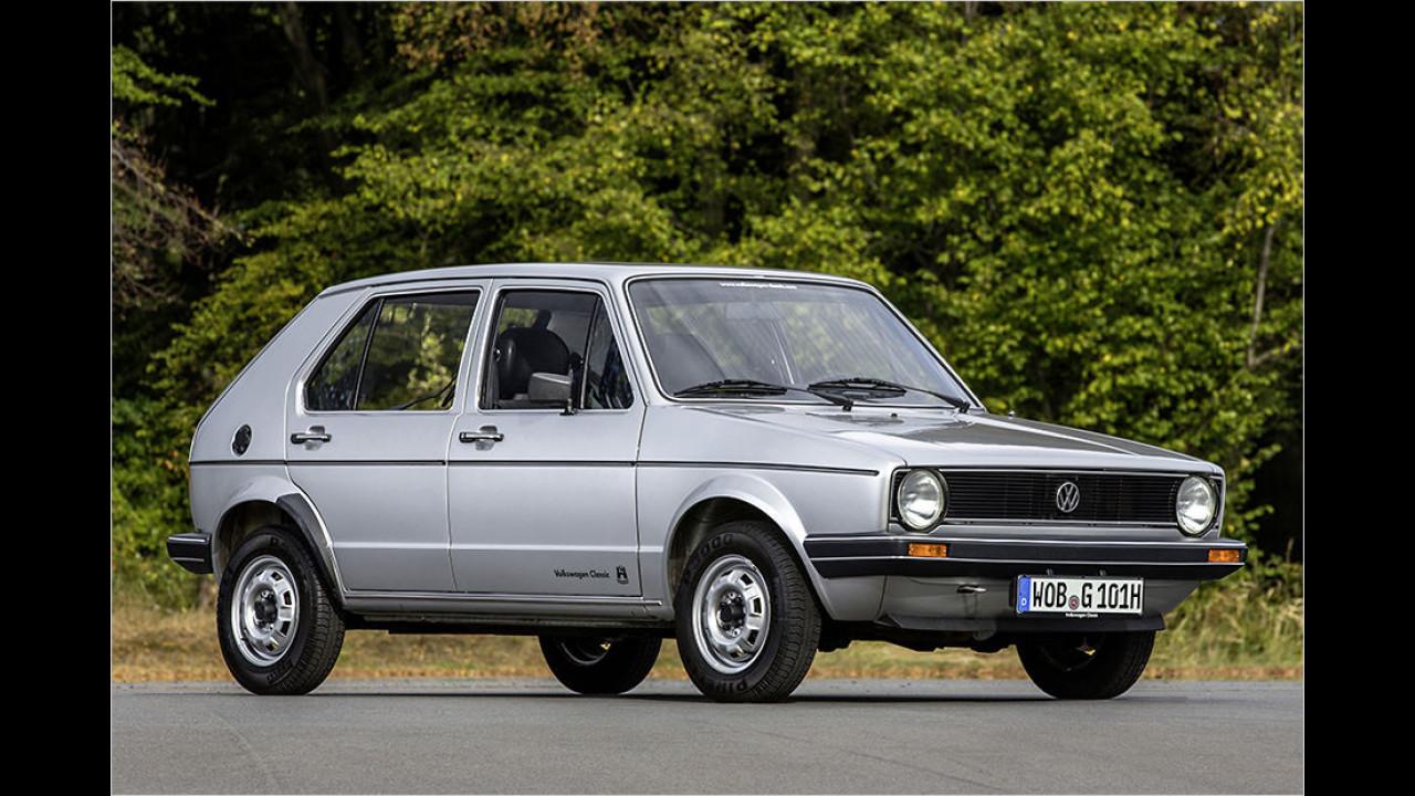 Platz 8: Der VW Golf mit 5.984 Fahrzeugen