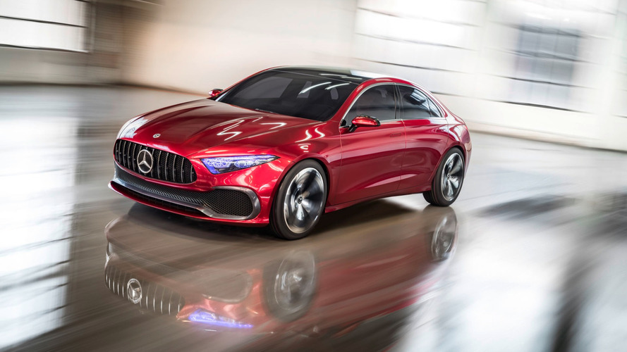 Mercedes Concept A Saloon Previews Next-Gen CLA In Shanghai