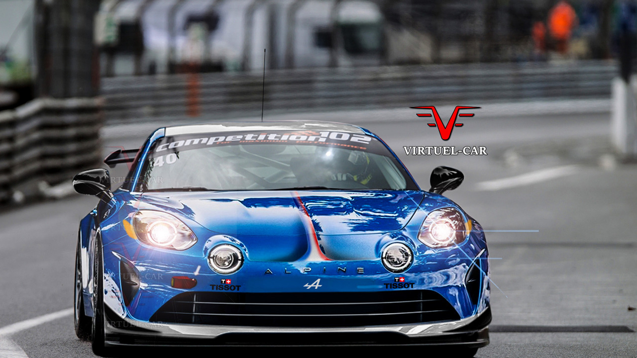 Photos - Et si l'Alpine A110 GT4 ressemblait à ça ?