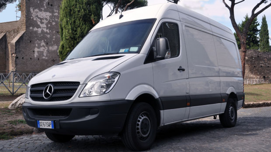 Mercedes-Benz Sprinter 316 CDI BlueEFFICENCY, la prova