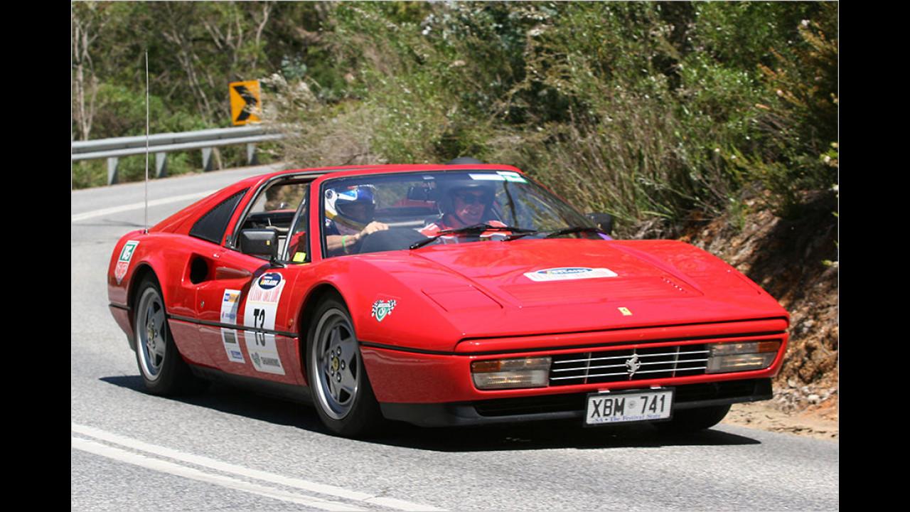 Platz sieben im Vergleich zu 2015: Ferrari 328 GTS