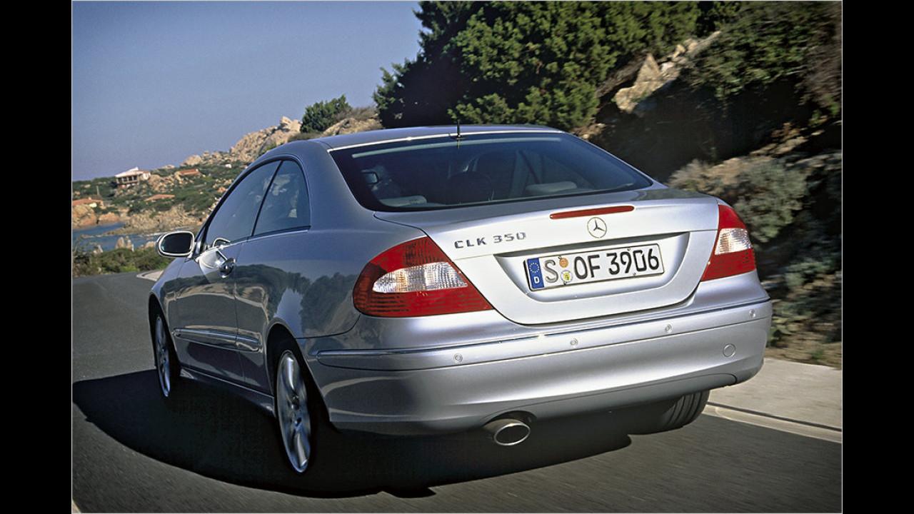 2002-2009: Mercedes CLK C 209