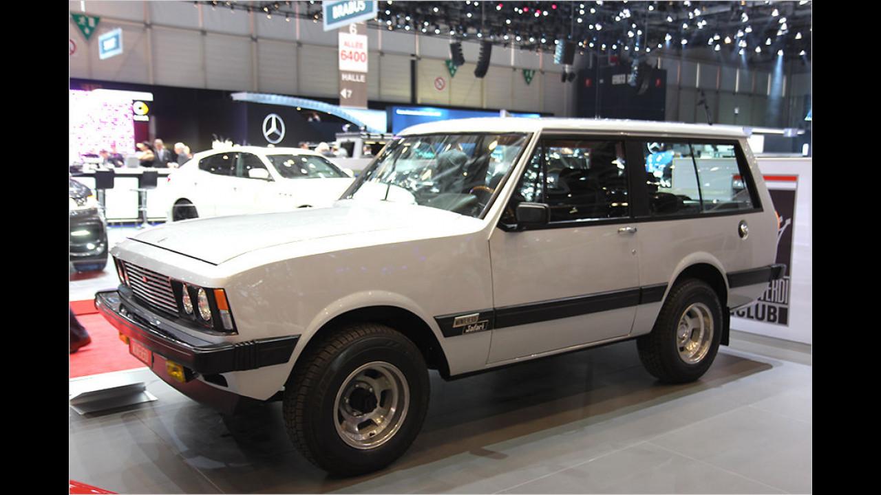 Angriff auf den Range Rover