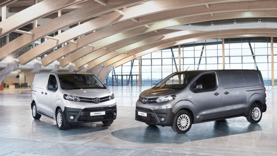 Toyota, il Nuovo ProAce