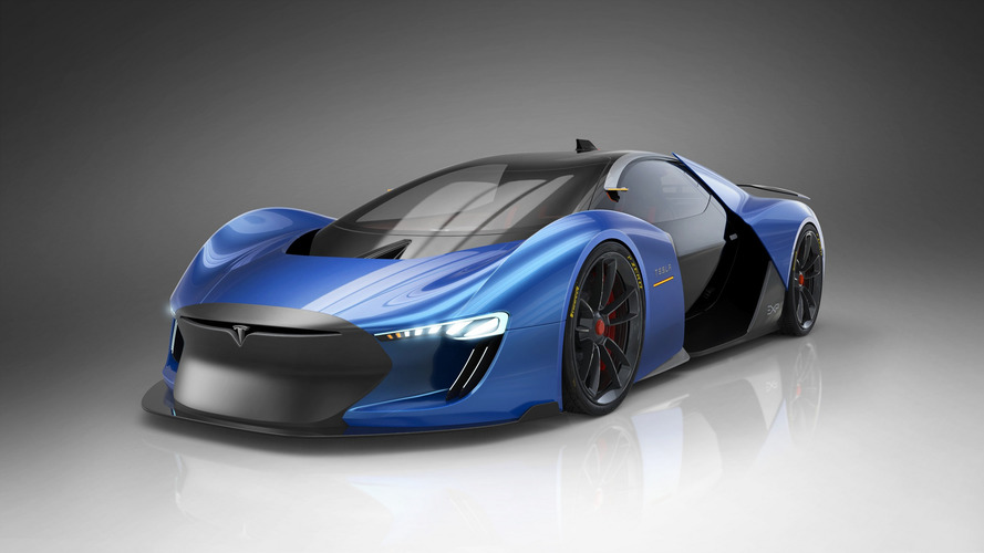 If Tesla Made A Hypercar, Would It Look Like This?