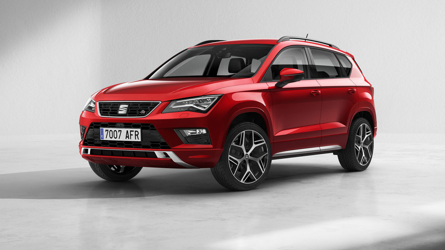 Seat Ateca FR Revealed: The Crossover Is Warmed Up